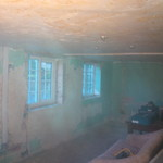 Removing old plaster